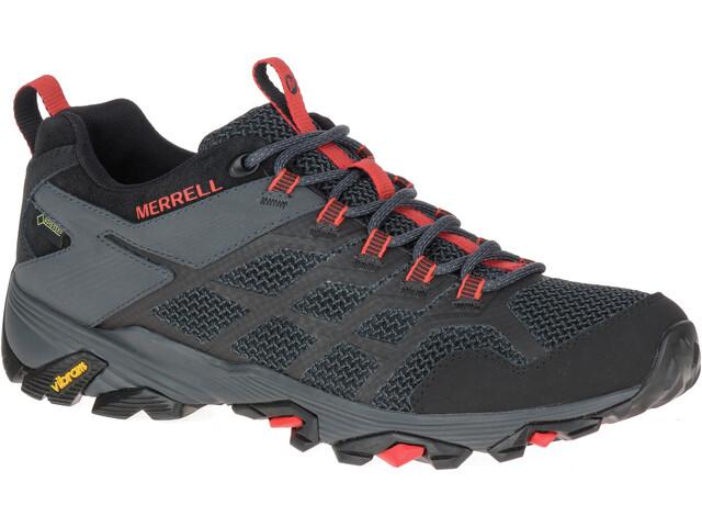 Merrell Moab FST 2 GTX Kengät Miehet, black/granite